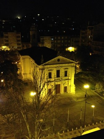 Lisbon City Hotel: vista notturna dalla suite 2