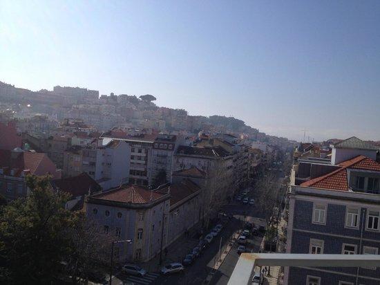 Lisbon City Hotel: vista diurna dalla suite 3