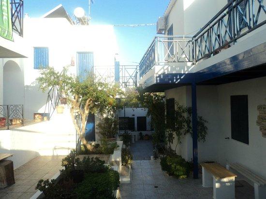 Papadakis Villas : Outside the room