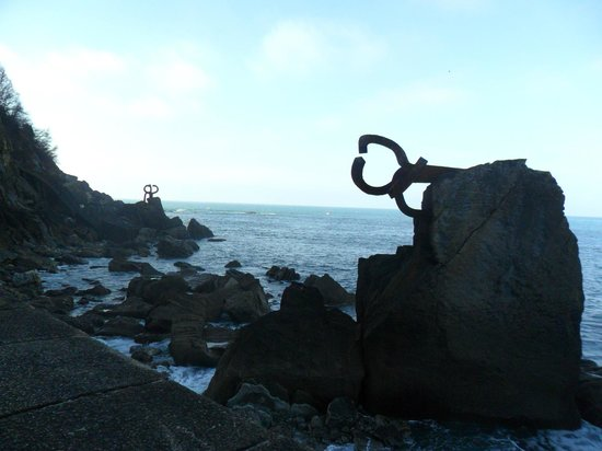 Peine del Viento : Imagen del peine de los vientos.