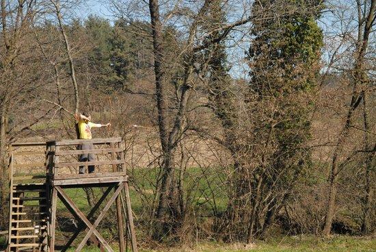 Farm House Altana del Motto Rosso : Il percorso arcieristico