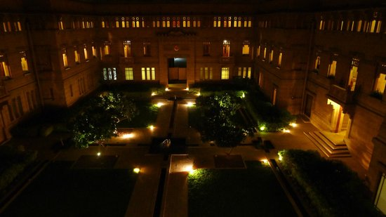 Umaid Bhawan Palace Jodhpur : Blick auf den Innenhof