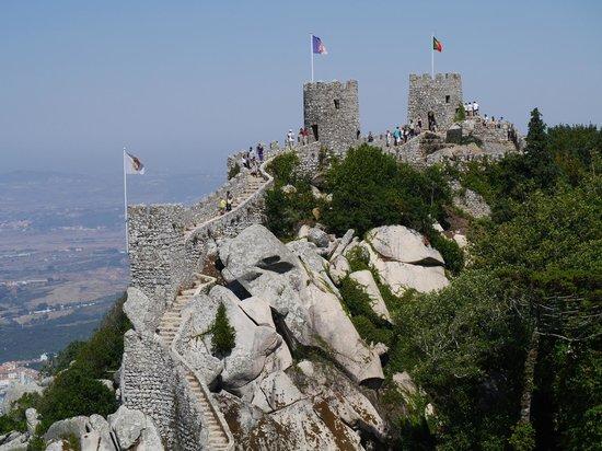 Castle of the Moors : 登るの結構大変です