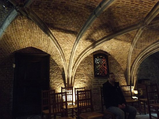 Jerusalem Church (Jeruzalemkerk): Inside of the chapel/crypt area