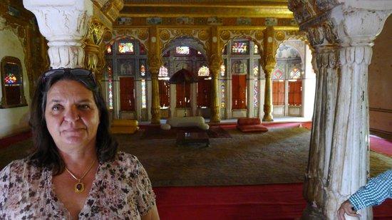 Umaid Bhawan Palace Jodhpur : Das Hotelinnenleben