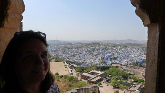 Umaid Bhawan Palace Jodhpur : Blick vom Meherangarh-Fort