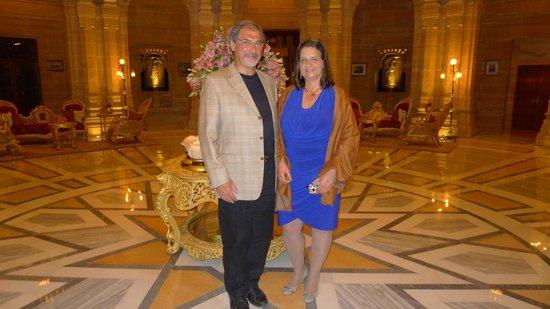 Umaid Bhawan Palace Jodhpur : Die Lobby