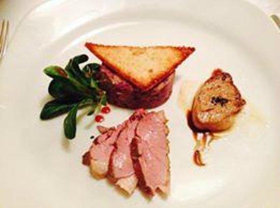 Hotel Palmenwald Schwarzwaldhof : Ein Traum - Trilogie der Ente - Gourmet Restaurant