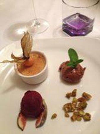Hotel Palmenwald Schwarzwaldhof: Dessertvariation - Gourmet Restaurant