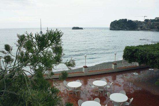 Lido Mediterranee Hotel : Вид из окон