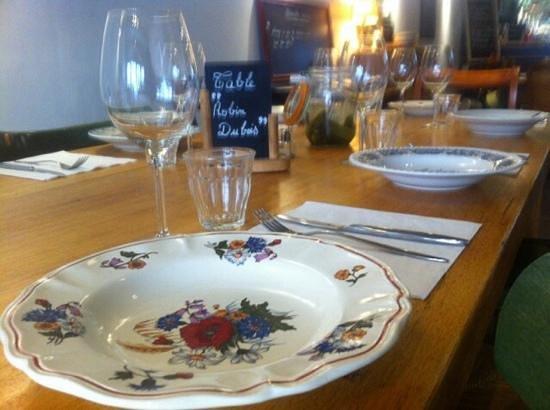 Chez Lulu: table