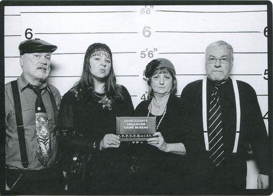 Capone's Dinner and Show: Mug shots taken by Capone's and available to buy before you leave