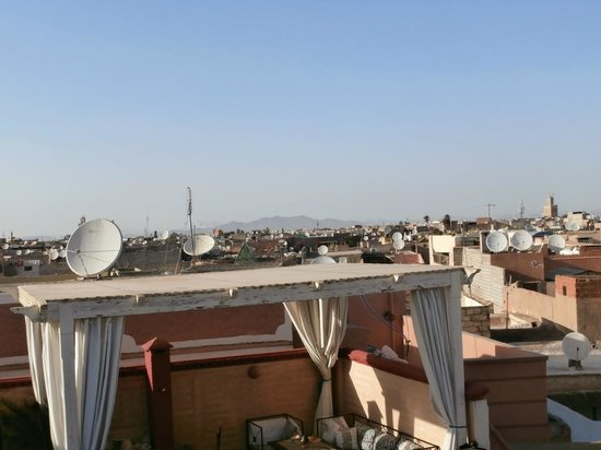Riad 58 Blu : view from the roof