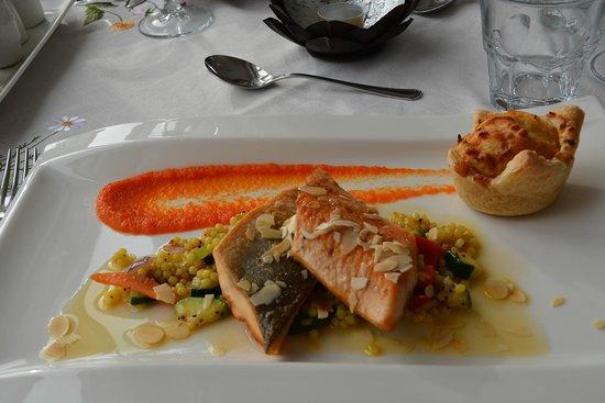 Restaurant Lindin Bistro Cafe: Lachsspeise