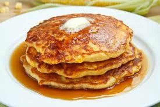 The Beach Grille: Plain Pancakes