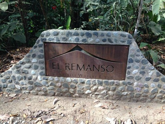 El Remanso Lodge: Main entrance