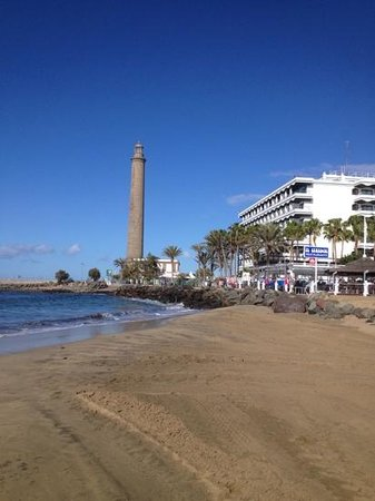 ClubHotel Riu Gran Canaria: lighthouse at meloneras
