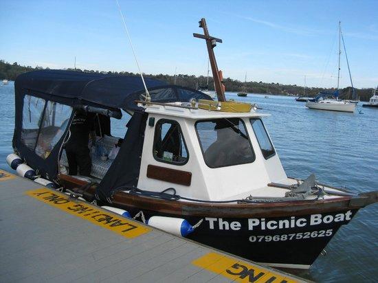 The Picnic Boat: A break at Dittisham