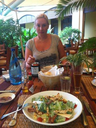 Victoria Angkor Resort & Spa : 🍵🍤🍹🍛