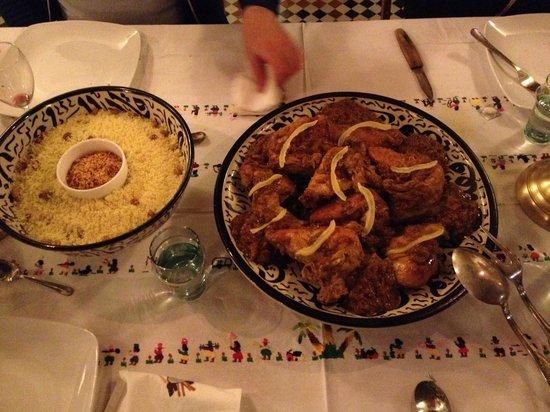 Dar 7 Louyat : Le dîner