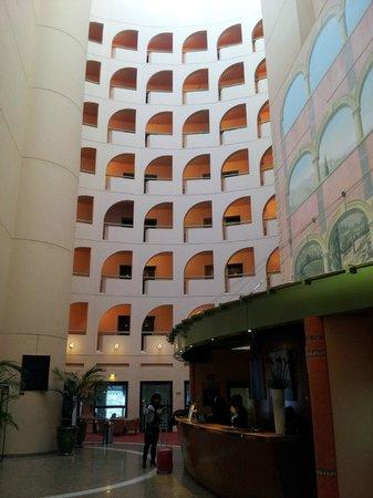 Radisson Blu Hotel, Lyon: Le hall d'accueil