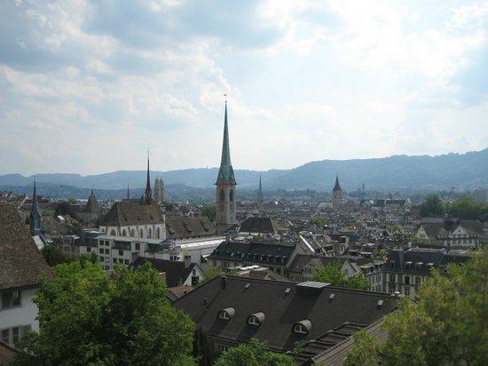 Sorell Hotel Rütli: The upper town view