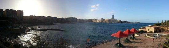 Hilton Malta: Vista
