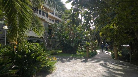 Hotel Escuela Santa Brigida : Fachada