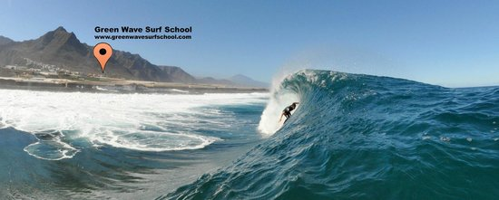 Punta del Hidalgo, Ισπανία: Green Wave Surf School