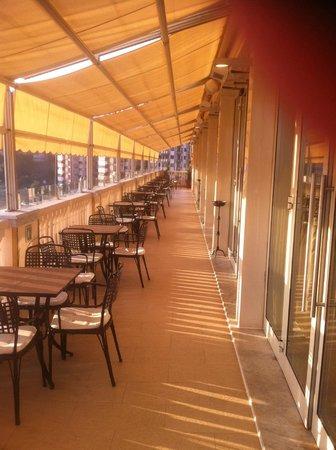 Grand Hotel Savoia: Dachterrasse
