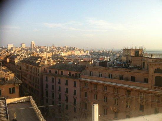 Grand Hotel Savoia: Aussicht vom 7. Stock Dachterrasse