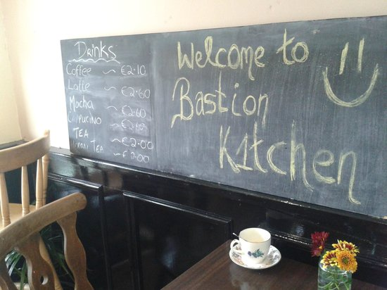 The Bastion Kitchen: Coffee was fantastic!