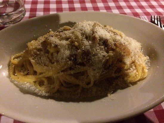 La Fraschetta: Spaghetti alla carbonara