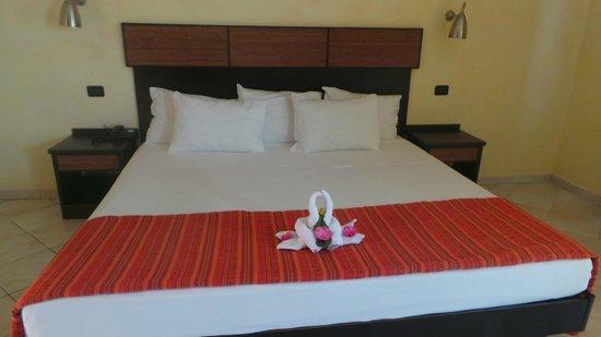 Royal Horizons Boa Vista : deco avec les serviettes