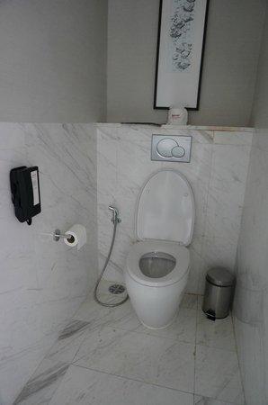 Bangkok Marriott Hotel Sukhumvit: telephone in the wc :)))