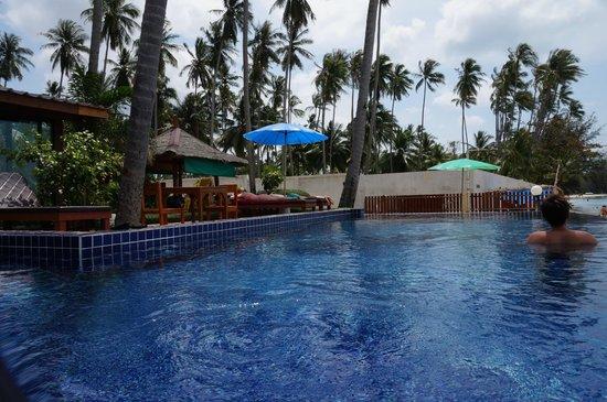 Lipa Bay Resort : Pool area