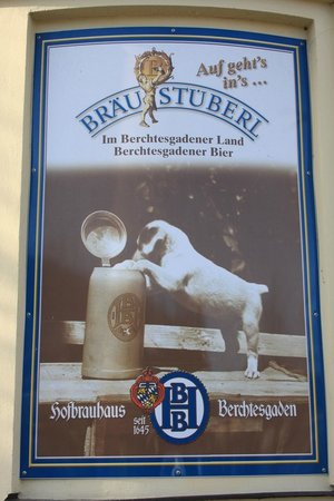 Braustuberl Berchtesgaden: manifesto
