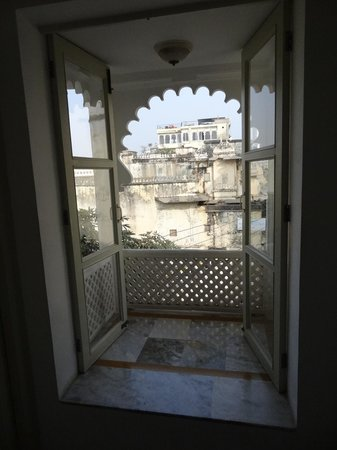 Jaiwana Haveli : View from corridor