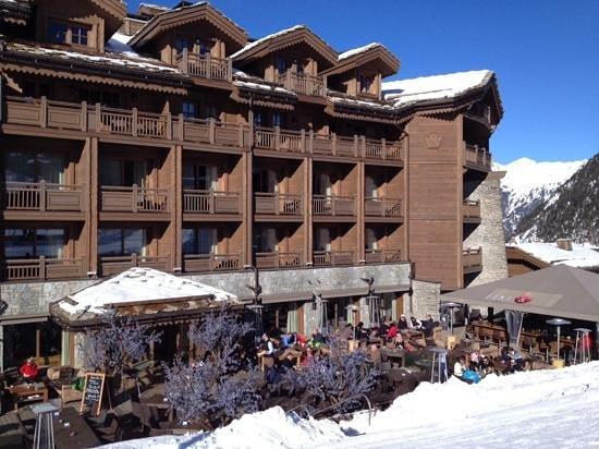 Hotel Le Portetta: fire and ice bar