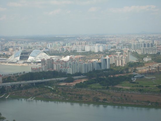 View From The Top 3 Picture Of Marina Bay Sands Skypark