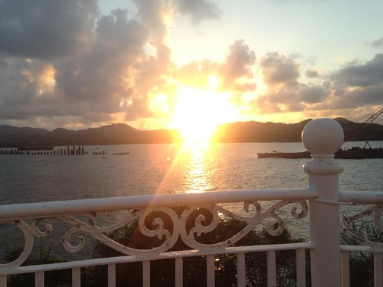 ClubHotel Riu Bachata: Sunset from the Gazebo