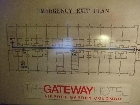 The Gateway Hotel Airport Garden Colombo : floor plan