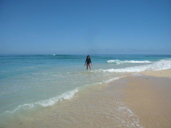 Babou Cote Ocean: plage sur l'îlot