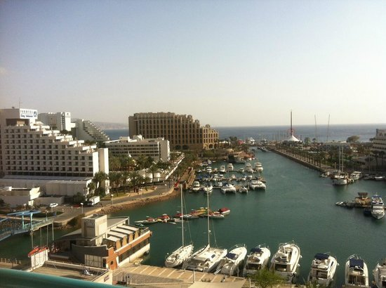 Crowne Plaza Hotel Eilat : room view 9 th floor