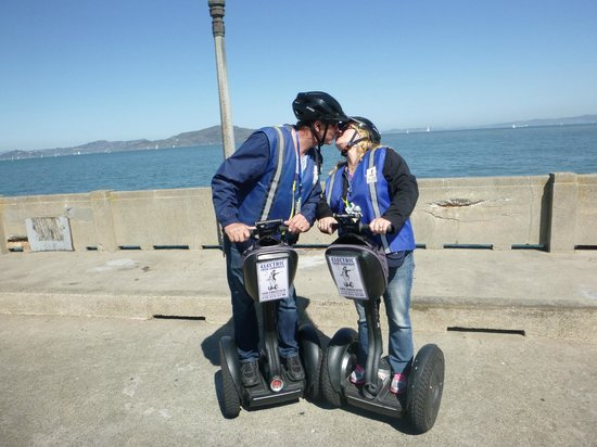 Electric Tour Company Segway Tours: SF Wharf & Waterfront Tour