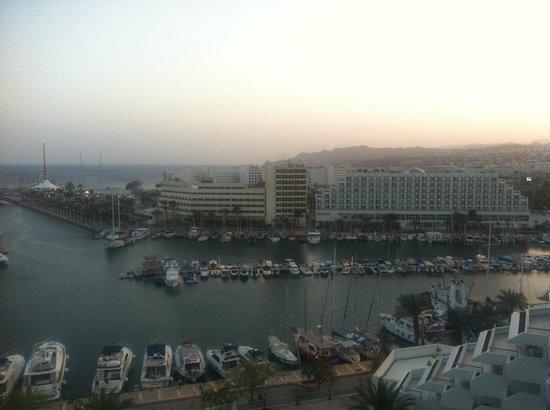 Crowne Plaza Hotel Eilat : room view 9 th floor