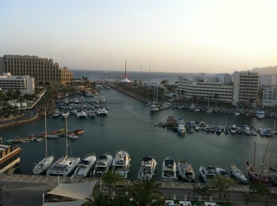 Crowne Plaza Hotel Eilat: room view 9 th floor