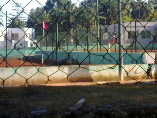 Parc Hassan II : Tennis