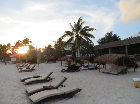 Viceroy Riviera Maya: THE BEACH!