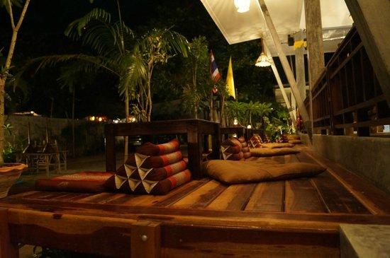 Benjamin's Hut: restaurant area